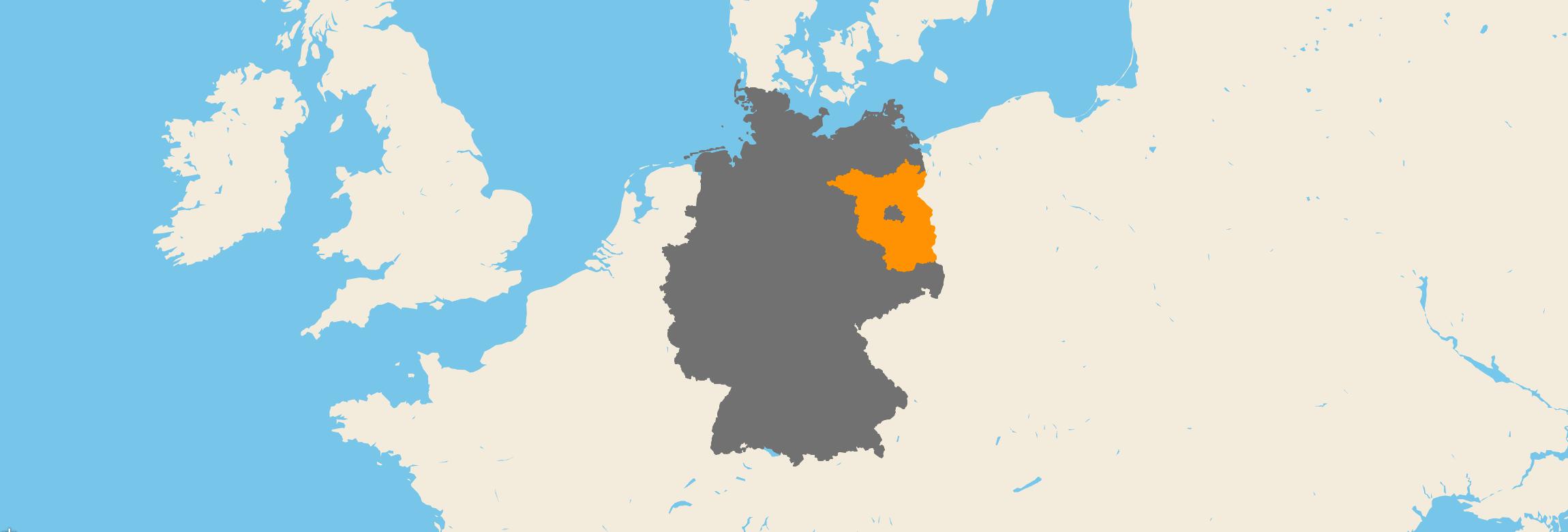 Brandenburg kartenansicht