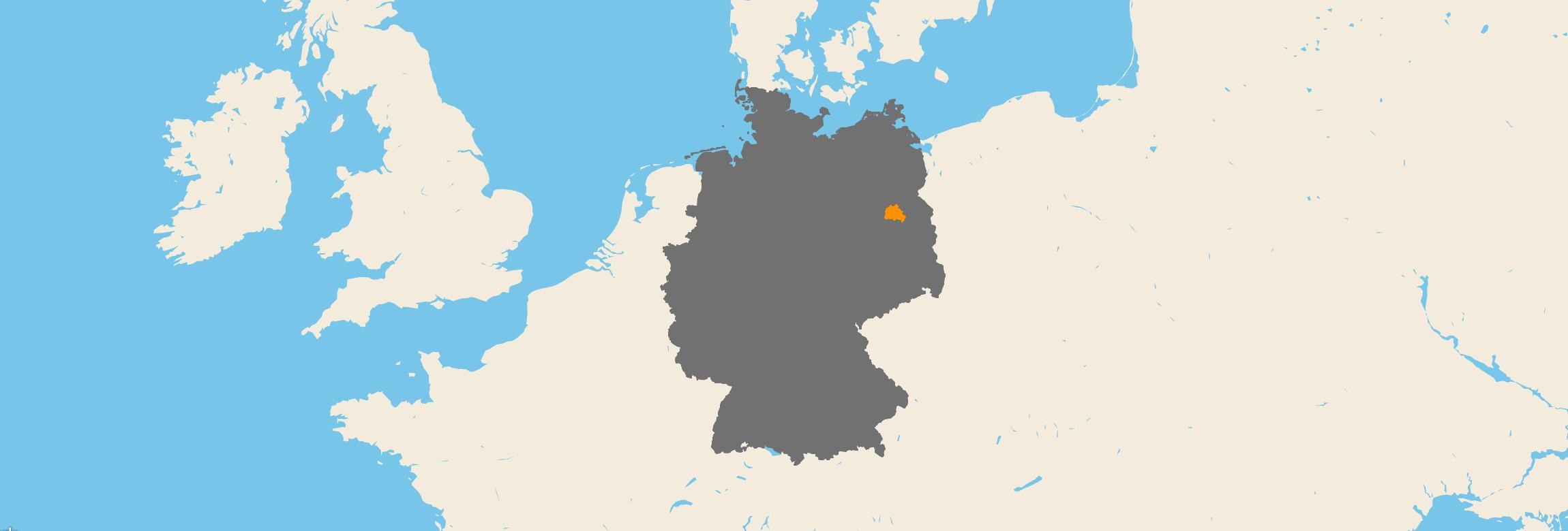Berlin kartenansicht