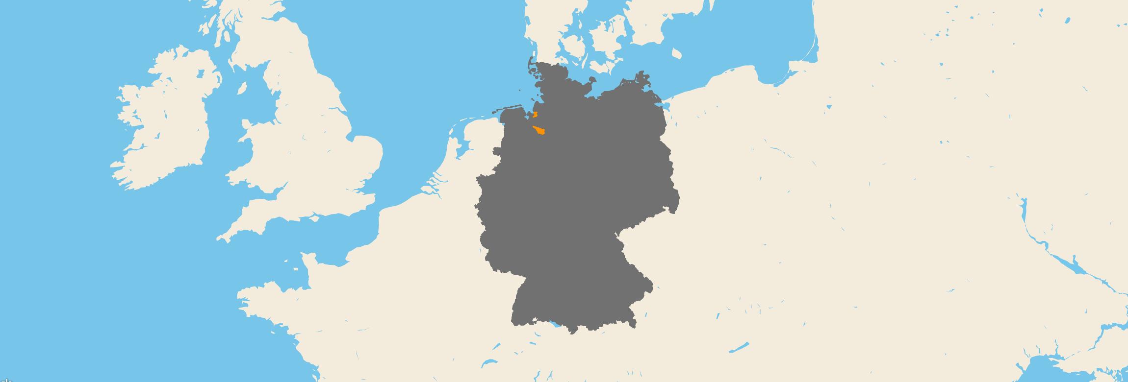 Bremen kartenansicht